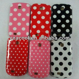 Dot Pattern Plastic Case Cover for Samsung Galaxy Mini S5570