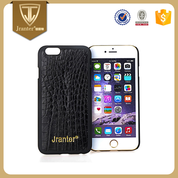 Factory Price Mobile Phone Case Custom, Professional Designers Wholesale Cell Phone Case Crocodile Leather
