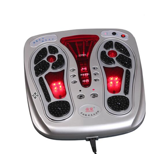 2018 Japan foot job Infrared Acupuncture Electric Stimulation Vibrating Blood Circulation Foot Massager