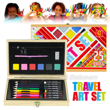 Art painting set for kids activity and creation travel drawing set