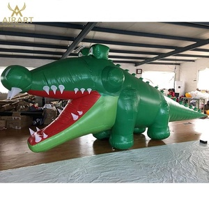 Inflatable crocodile outdoor advertising animal inflatable for party stage decoration