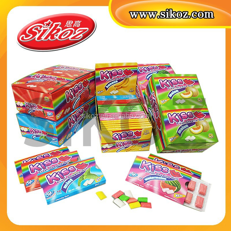 SK-G019 mint and melon flavor Fresh Chewing Gum