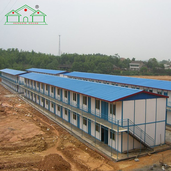 Ready made architectural design prefabricated building house