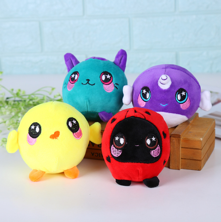 Customized New Design Diy Oem Plush Baby Squishy Plush Stuffed Toy Soft Fox Toy Fabric Keychain Voice Box Stuffed <strong>Animal</strong>