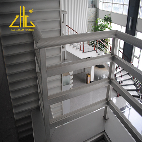 Aluminium Handrails with Accessories Factory Cheap Railings Aluminum  For Outdoor Stairs Selling Well