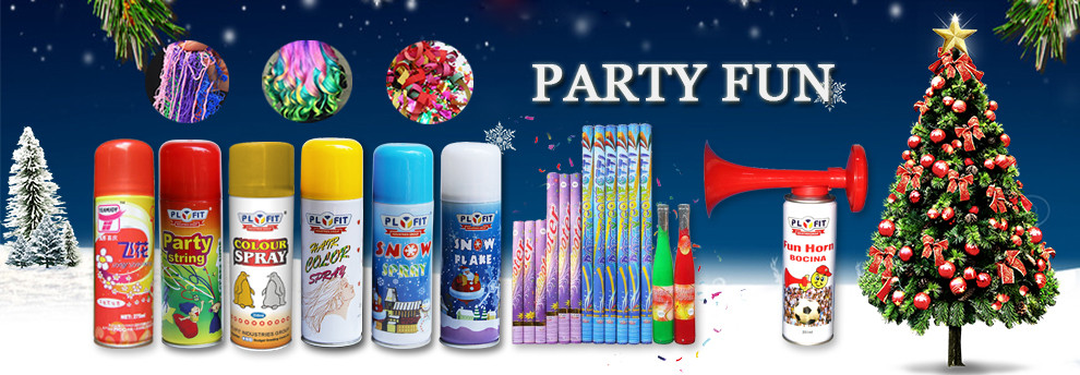 Party Aerosol Hair Color Spray