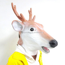 Halloween party cosplay Halloween animal rubber mask Deer head mask