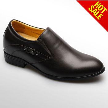 8e837e07d Caliente vender de encaje de cuero marrón estilo ascensor turco zapatos/ zapatos de zapato italiano