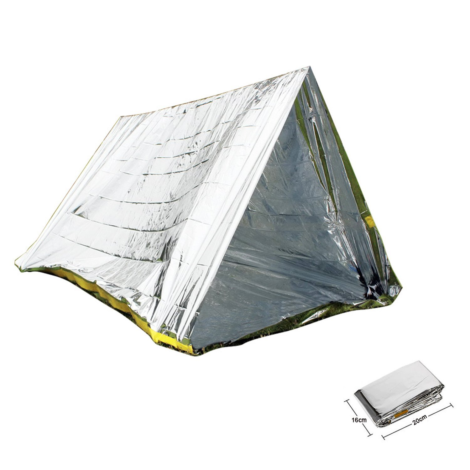 Get Quotations · XuanHuZhe Emergency Tent Survival Shelter Tent 2 Person Mylar Thermal Shelter All Weather Tube Tent Best  sc 1 st  Alibaba : best survival tents - afamca.org