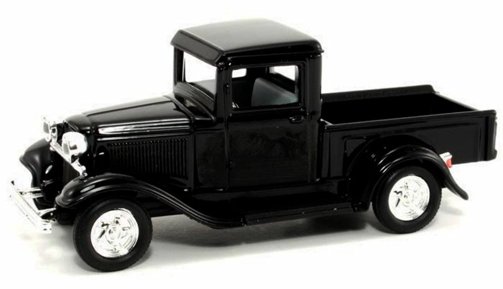 1934 Ford Pickup Truck, Black - Road Signature 94232 - 1/43 Scale Diecast Model Toy Car