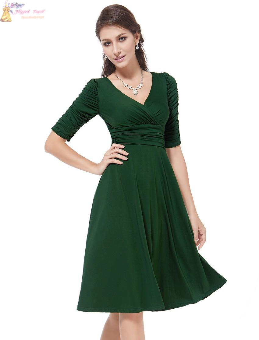 Get Quotations · Women Dresses New Fashion 2015 Summer Celeb V-Neck Half  Sleeve Maxi Party Dresses Size 20ae34587614