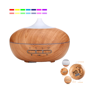 Auto-sensing 300ML Aromatherapy Ultrasonic Essential Oil Intelligent Aroma Diffuser