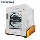 100KG front-loading industrial laundry washer extractor garment washing machine price
