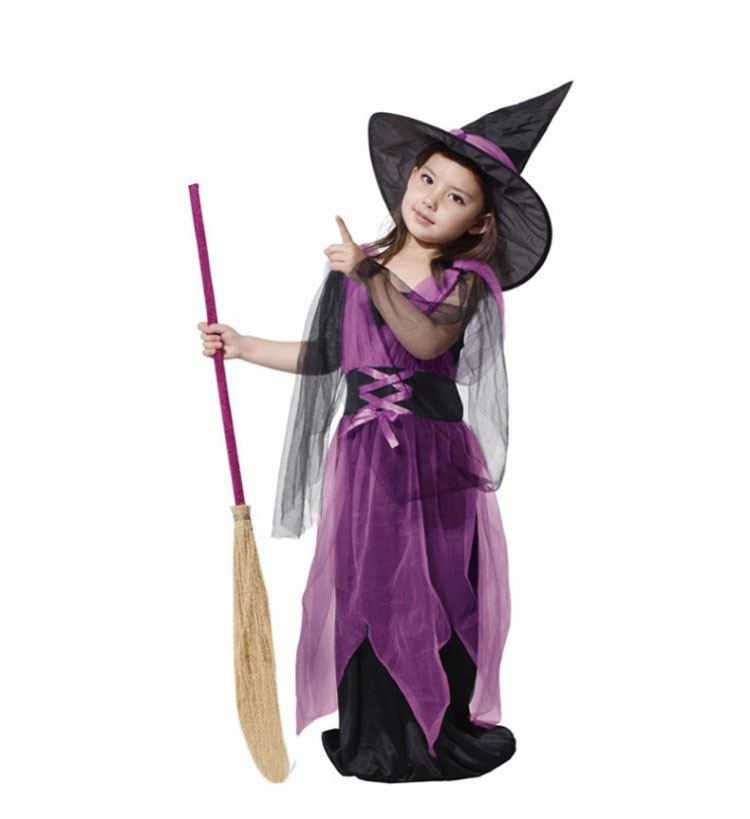 8a032c53003e6 Clothing Case Umorden Halloween Costumes Girl Black Fly Witch ...