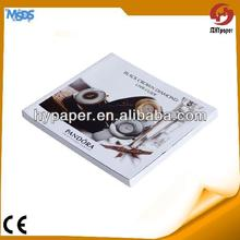 promotion art paper offset printing binding watch catalog