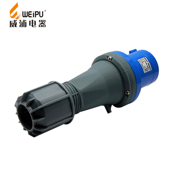 Good price electrical supplies 220v 63A IP44 3poles weipu connector