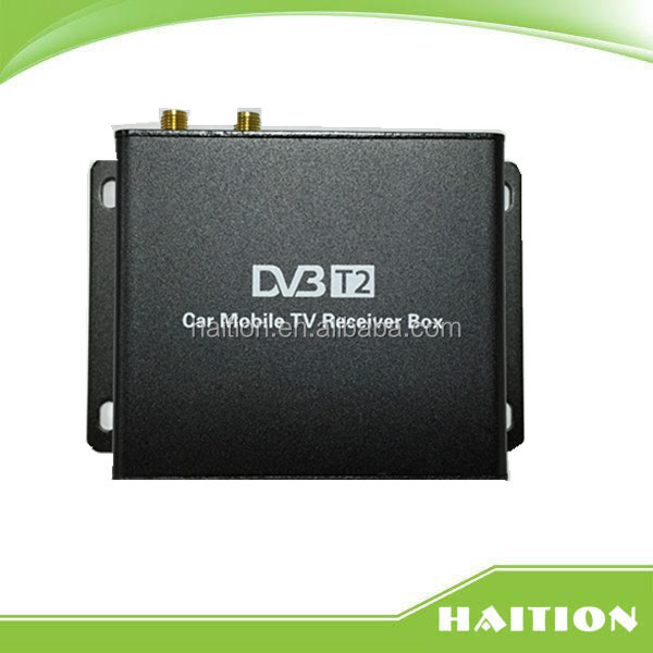 dvb t2 <strong>set</strong> <strong>top</strong> box for Car with dual <strong>tuner</strong> can work in high speed 120km/h