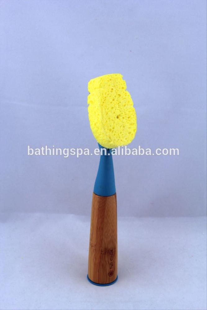 Hot selling dish sponge with handle