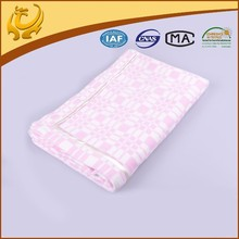 Good Quality Home Textiles Cotton Wholesale Jacquard Blanket Manufacturer In China