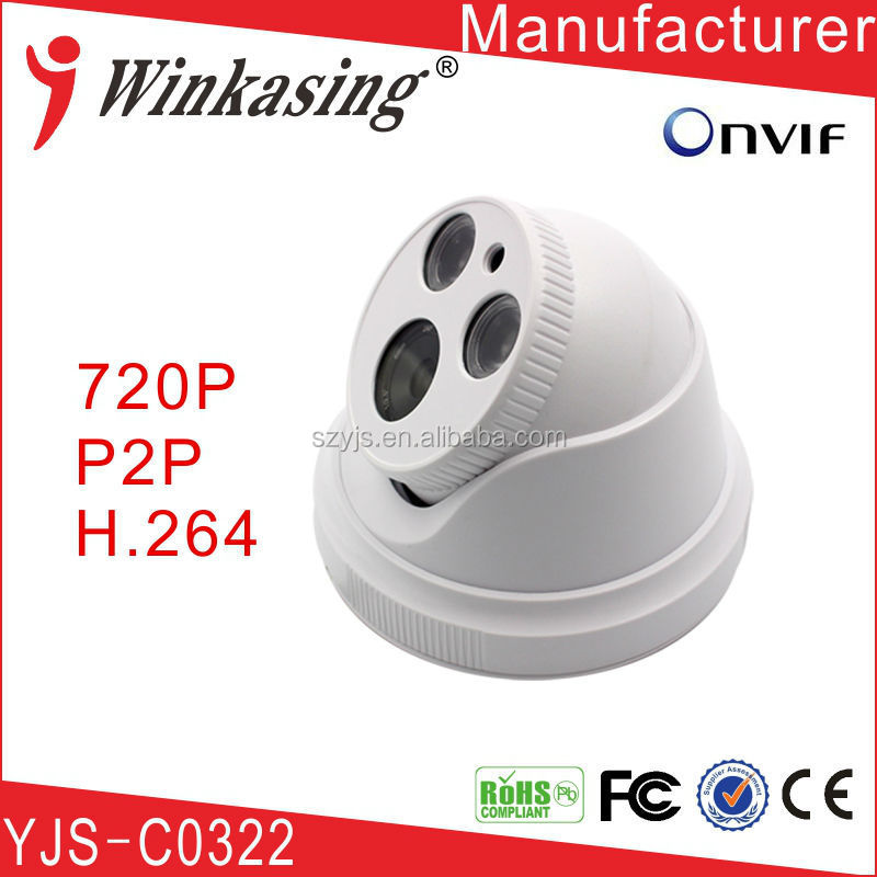 New Brand 720P CCTV P2P Dome IP Camera