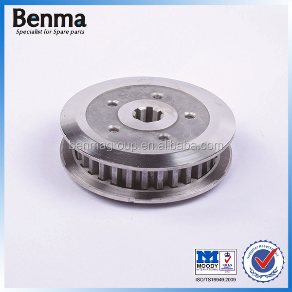 Strong Power GS125 Motorcycle Clutch Spares Clutch Aluminium Hub and Pressure Plate