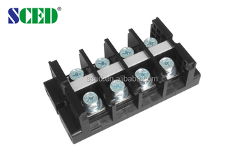 Panel Mounted Terminal Block Pc 600v 101a High Current Terminal ...