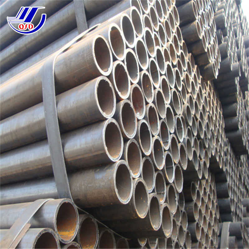 China Mill/Factory/Manufacture sch 40 2 inch black round shape steel pipe for construction