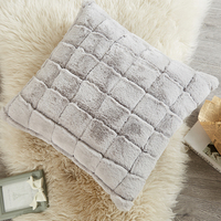 Wholesale custom Faux Fur back rest cushion with factory price