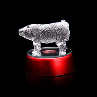 High quality crystal gift design for Chinese Zodiac craft crystal frgurine CZ014
