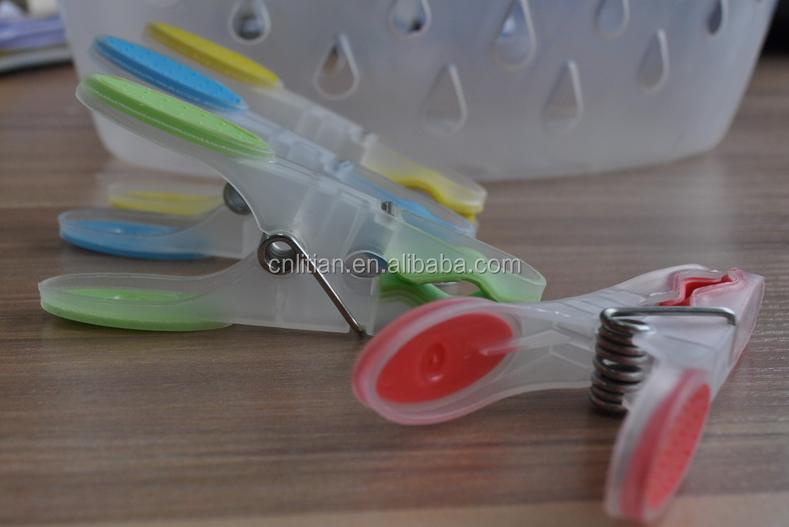Plastic Colourful Clothes Hangers Plastic Clothespin/clothes Peg ...