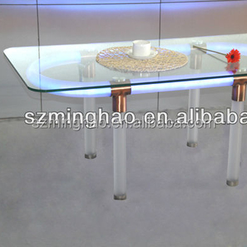 Led Acryl Tisch Plexiglas Couchtisch Acryl Led Mobel Buy Acryl