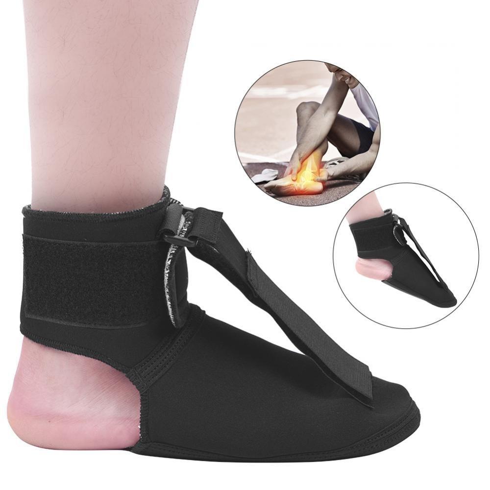 ZJchao Foot Drop Postural Corrector, Adjustable Foot Droop Orthosis Ankle Foot Drop Postural Corrector Brace Orthosis Splint Ankle