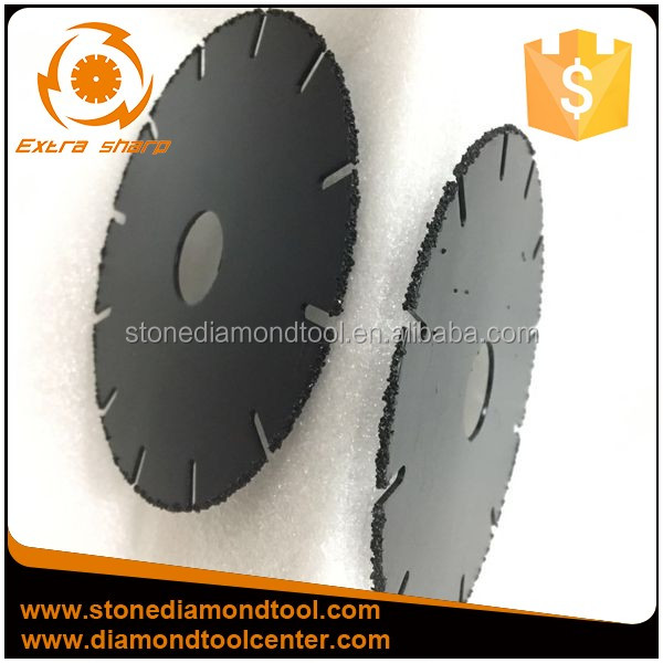 115mm Vacuum Brazed Diamond Small Cutting Blade