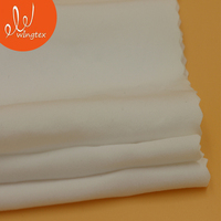 China product 150g 82 nylon 18spandex stretch knitted plain microfiber fabric for underwear leggings