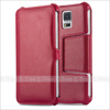 Retro Magnetic Pu Leather Stand Cellphone Case Cover For Samsung Galaxy S5, For Samsung S5 Flip Cover