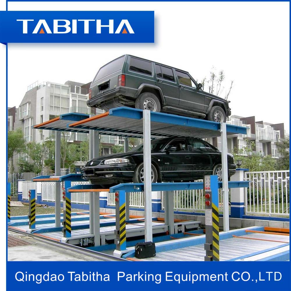 Electric Motor Underground Pit Car Auto Parking Lift System