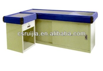 Supermarket Equipment/durable Beautiful Cash Counter Table