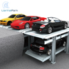 2 level in ground car parking stacker