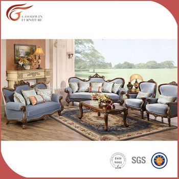 Cheap Antique Living Room Sofa Set Made In China Gas030 - Buy Living ...