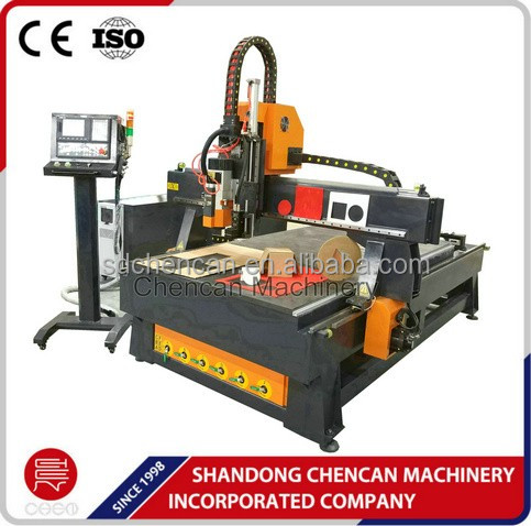Automatic wood carving cutting machine with EOT oscillating tangential knife