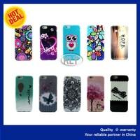 OEM Custom Printed Marble Design 3D Slim tpu Cell phone Hard Shell TPU Mobile Cover for ZTE