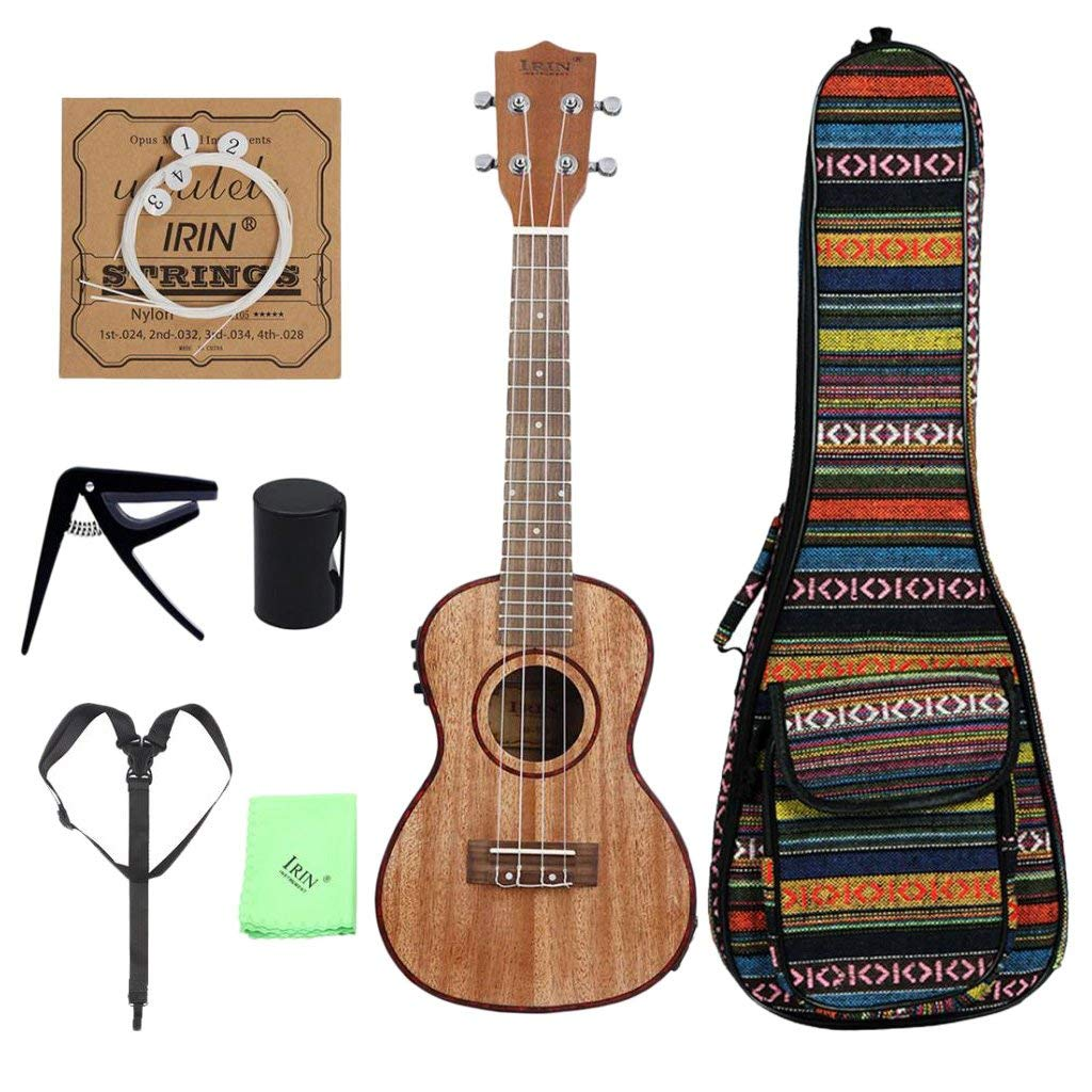 Ukulele Discreet High Quality 21 Ukulele Pineapple-shaped Soprano Ukulele Durable Sapele Ukelele Matte 4 Nylon Strings Rosewood Fingerboard Stringed Instruments