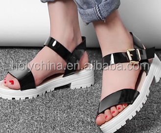 hot sale high quality girls high platform heel sandals