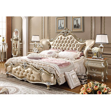 Elegant Italian furniture design european bedroom furniture sets