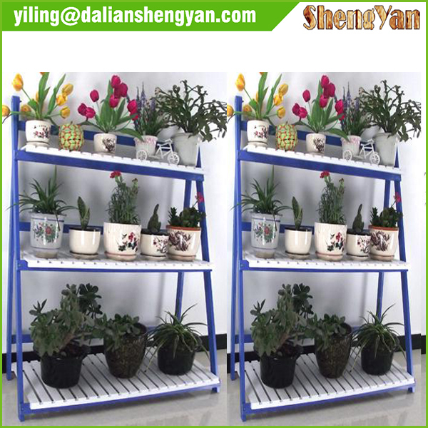 Wooden Style Outdoor 3 Tier Plant Stand   Buy Outdoor 3 Tier Plant Stand,Plant  Stand,3 Tier Plant Stand Product On Alibaba.com