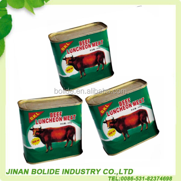 340g halal canned beef luncheon meat