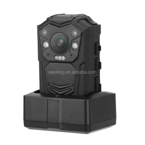 factory big recording button Built-in WiFi and GPS auto IR wearable body camera with GPS