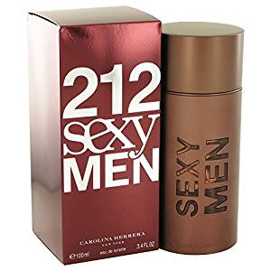 212 Sexy Cologne For Men by Carolina Herrera Eau De Toilette Spray 3.3 oz. 100 ml. [WP] Free! Lempicka 0.17 oz Mini EDP