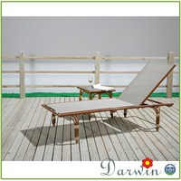 Villa swimming pool cheap bamboo looking outdoor lounge