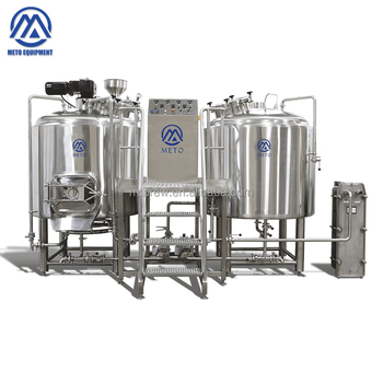 METO 3BBL stainless steel 304 craft commercial beer brewery equipment pub brewing and restaurants making craft beer for sale